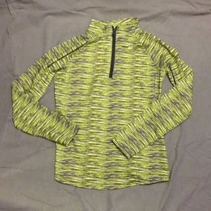 EUC Justice athletic pull over jacket size 10
